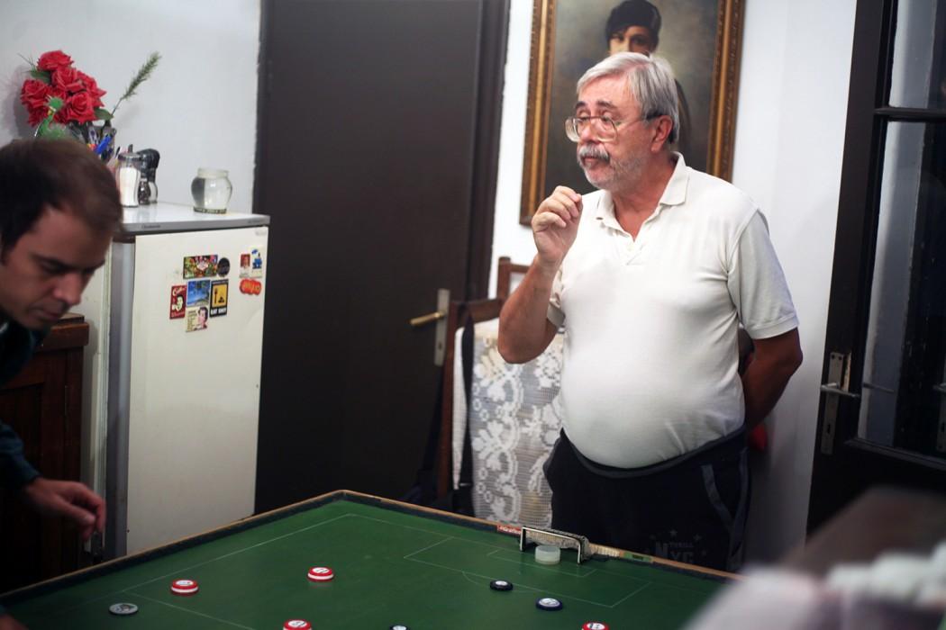 Profesor Miša Krstić i fudbal s dugmićima